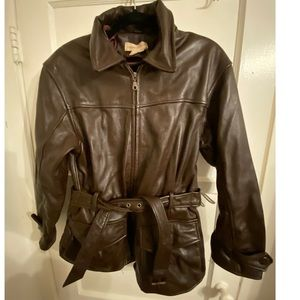 Authentic COLEBROOK & CO Women's Leather Jacket 🔥